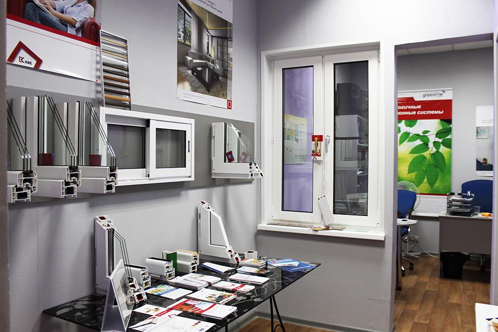 Окна офис фото